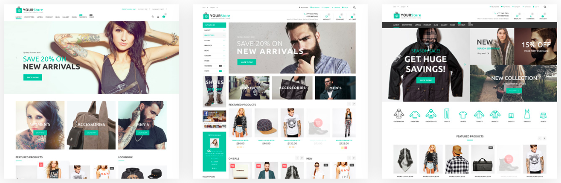 YourStore-Shopify-Theme-Premade-Layout-Examples