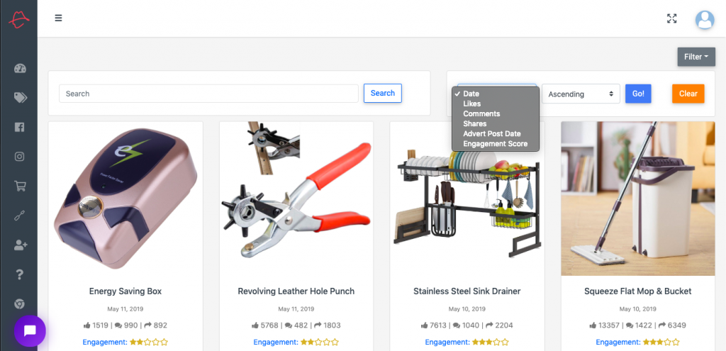 Dropship Spy - Winning Products On Shopify Stores