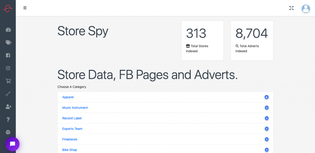 Dropship Spy - Spy on Shopify Stores in your niche