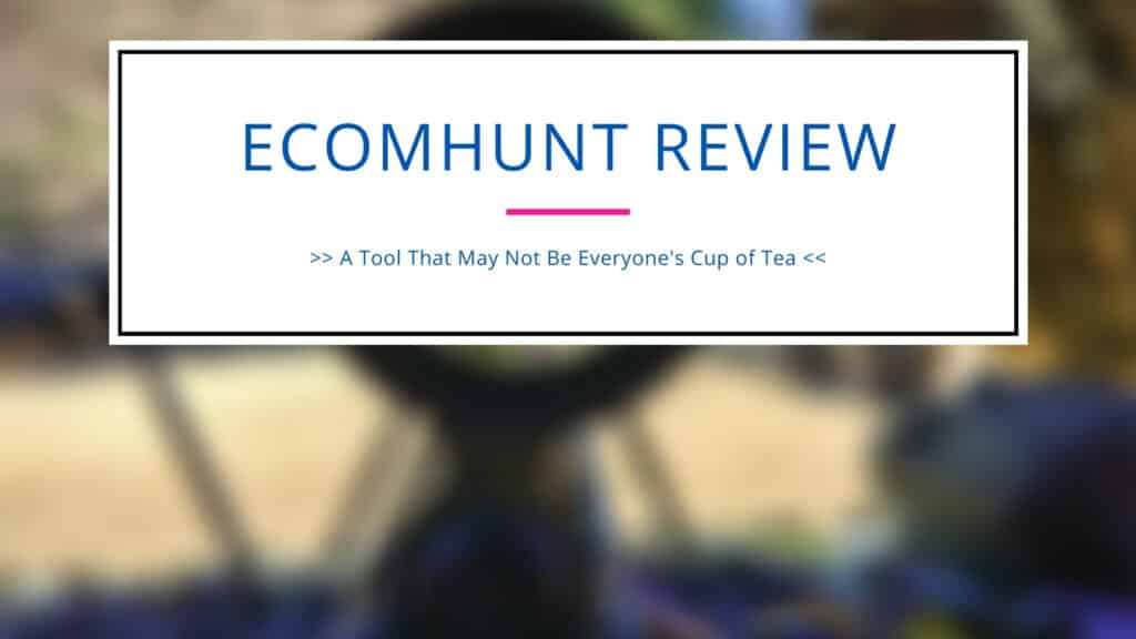 Ecomhunt Review Banner